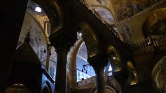 Inside St. Mark's Basilica
