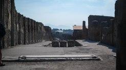 "Pompeii's main ""shopping street"""