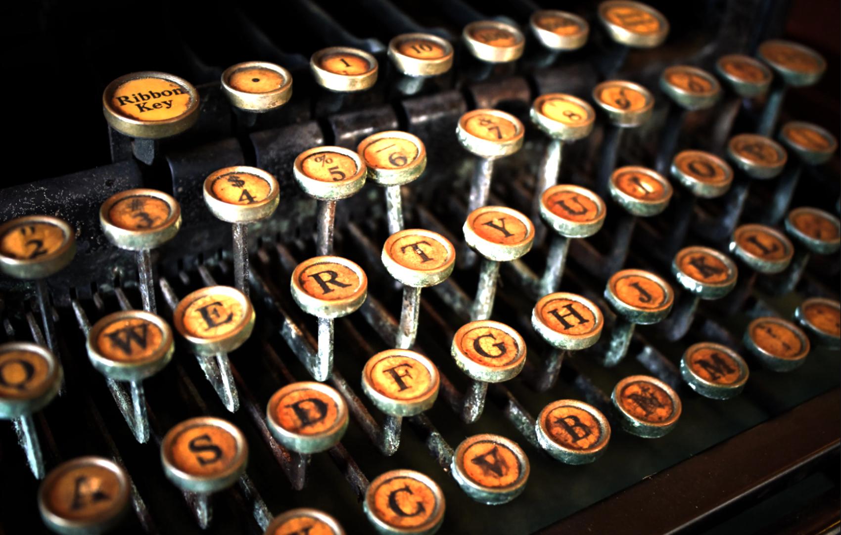 ToFT Typewriter Contact Background