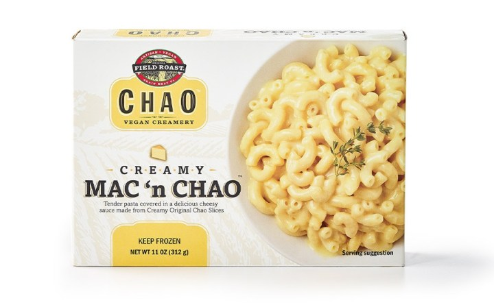 box of creamy mac n chao