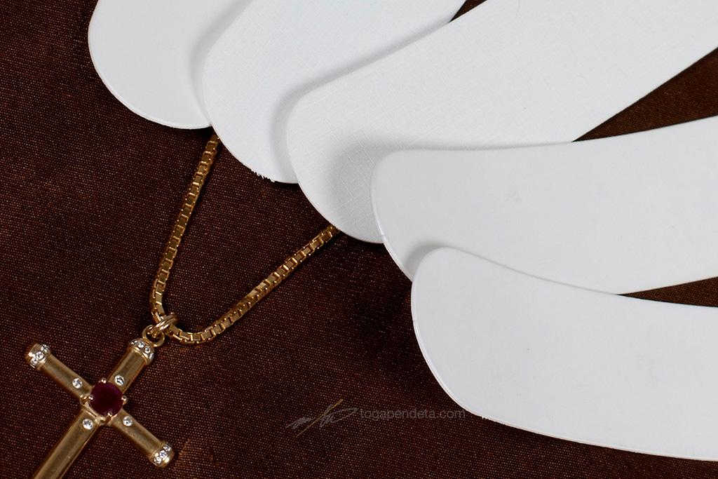 Clerical collar church collar