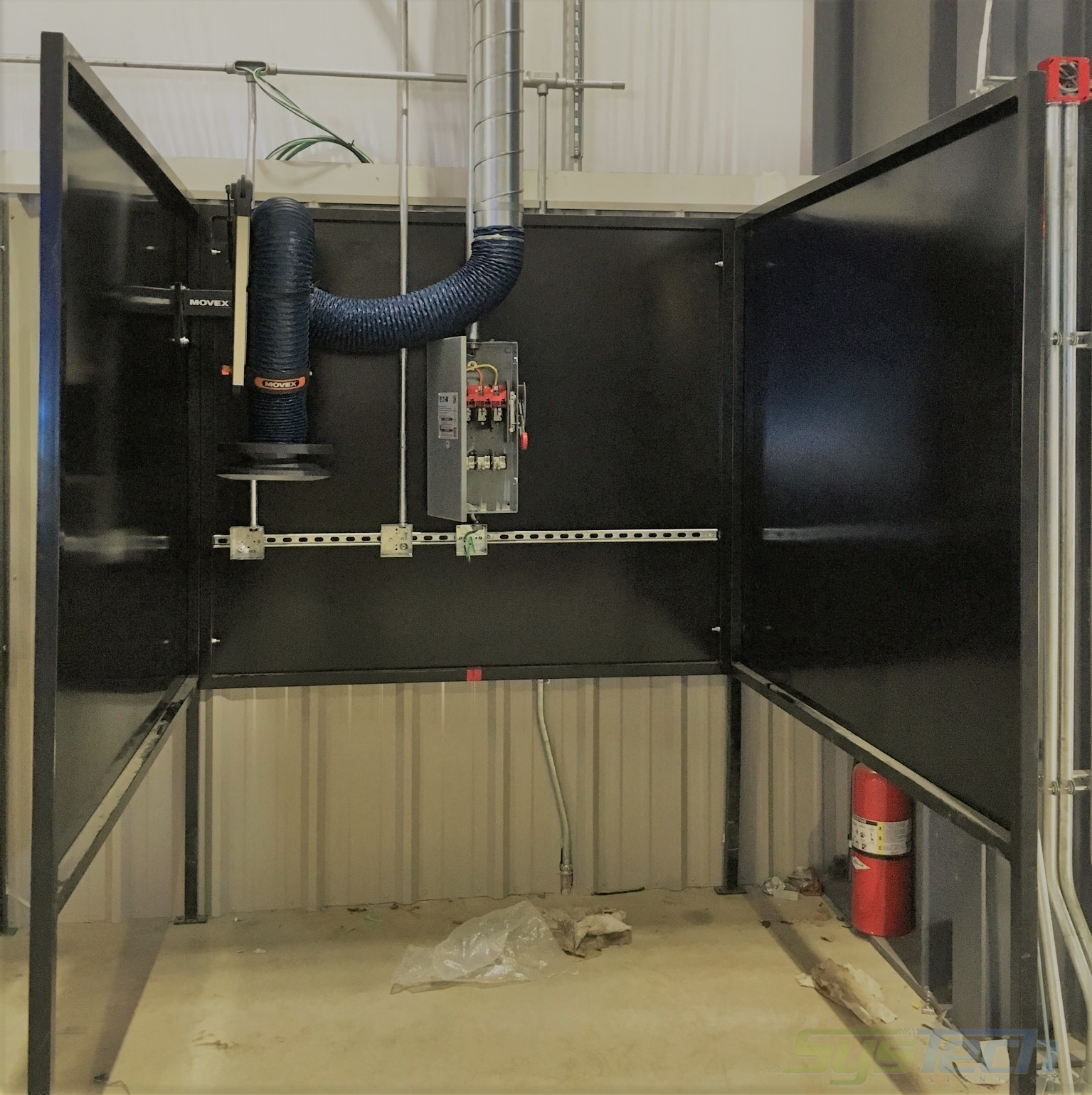 weld fume exhaust systems