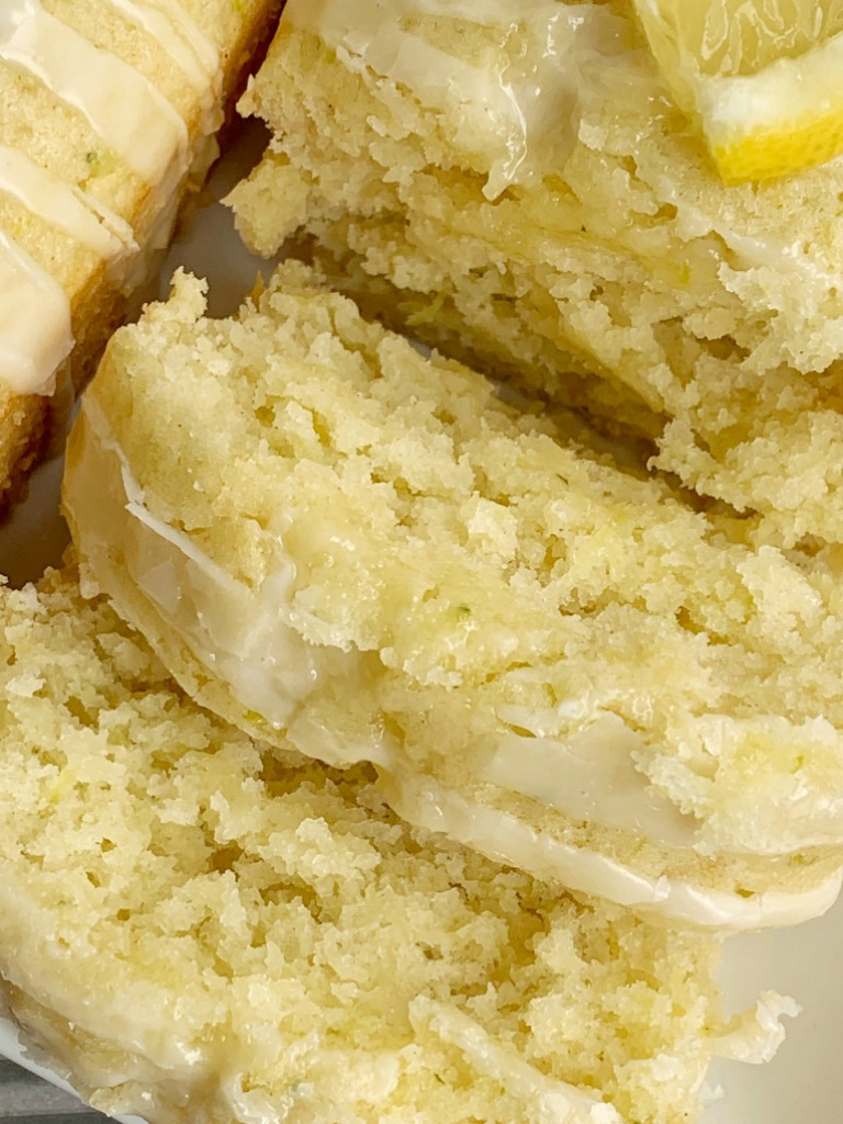 lemon zucchini bread  together as family