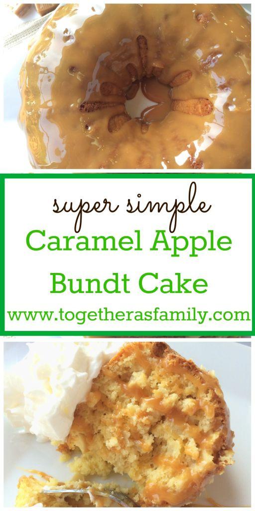 CARAMEL APPLE BUNDT CAKE | www.togetherasfamily.com