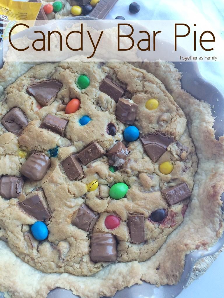 CANDY BAR PIE | www.togetherasfamily.com