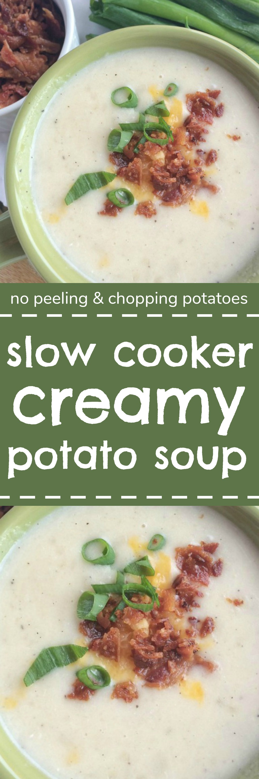 Slow Cooker Creamy Potato Soup - Together as Family