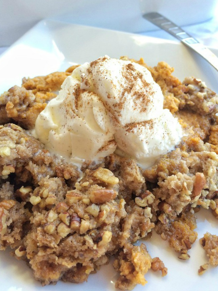 Pumpkin Cobbler With Spice Cake Mix