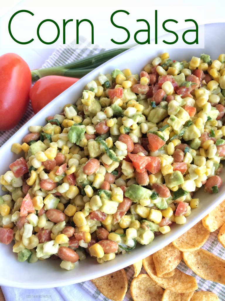 CORN SALSA | www.togetherasfamily.com