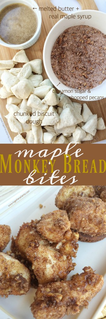 MAPLE MONKEY BREAD BITES | Together as Family