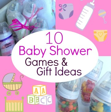 A fun collection of baby shower games that is sure to please guests and have everyone laughing and having fun!