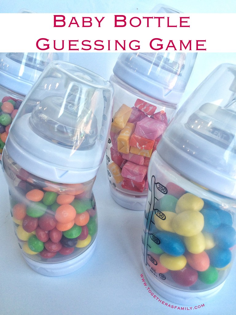 Baby Bottle Guessing Game is a fun baby shower game to play! Come check out more Baby Shower games.