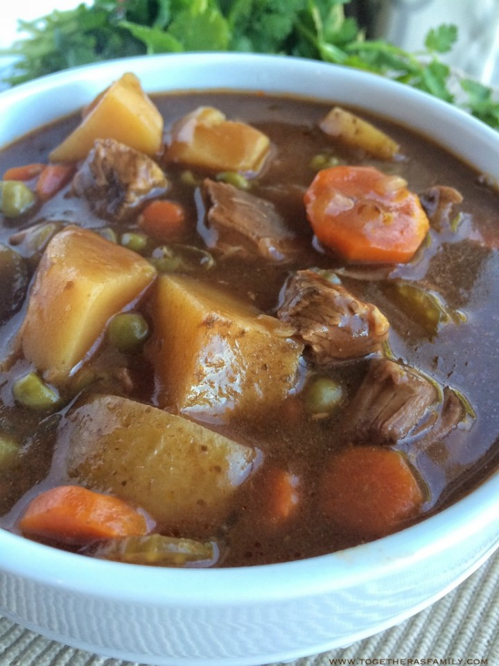 Slow Cooker Apple Cider Beef Stew