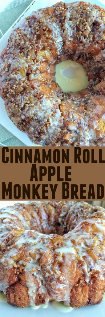 Cinnamon Roll Apple Monkey Bread