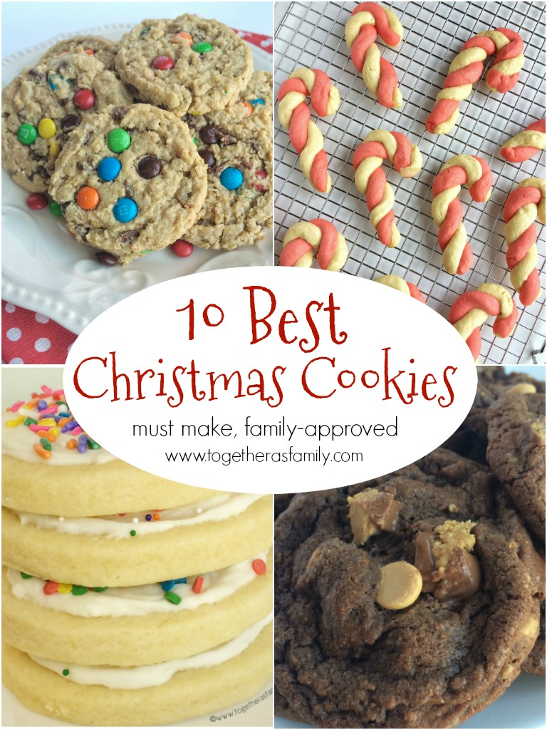 10 Best Christmas Cookie Recipes Together As Family