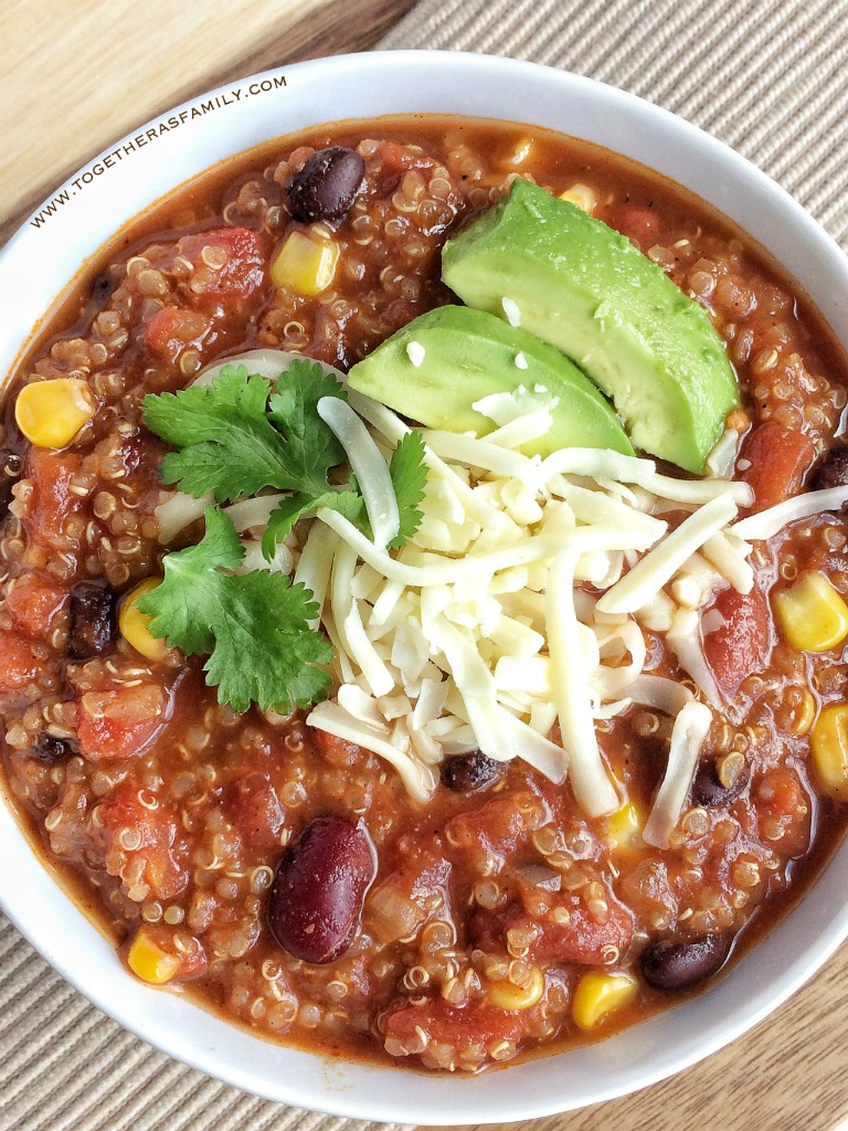 Quinoa Chili - Together as Family