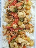 Pineapple Teriyaki Chicken Stir-fry