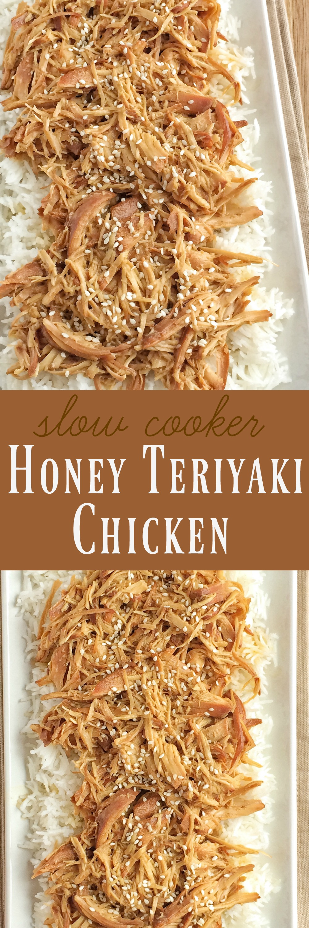honey teriyaki sauce and some chicken is all you need! The chicken ...