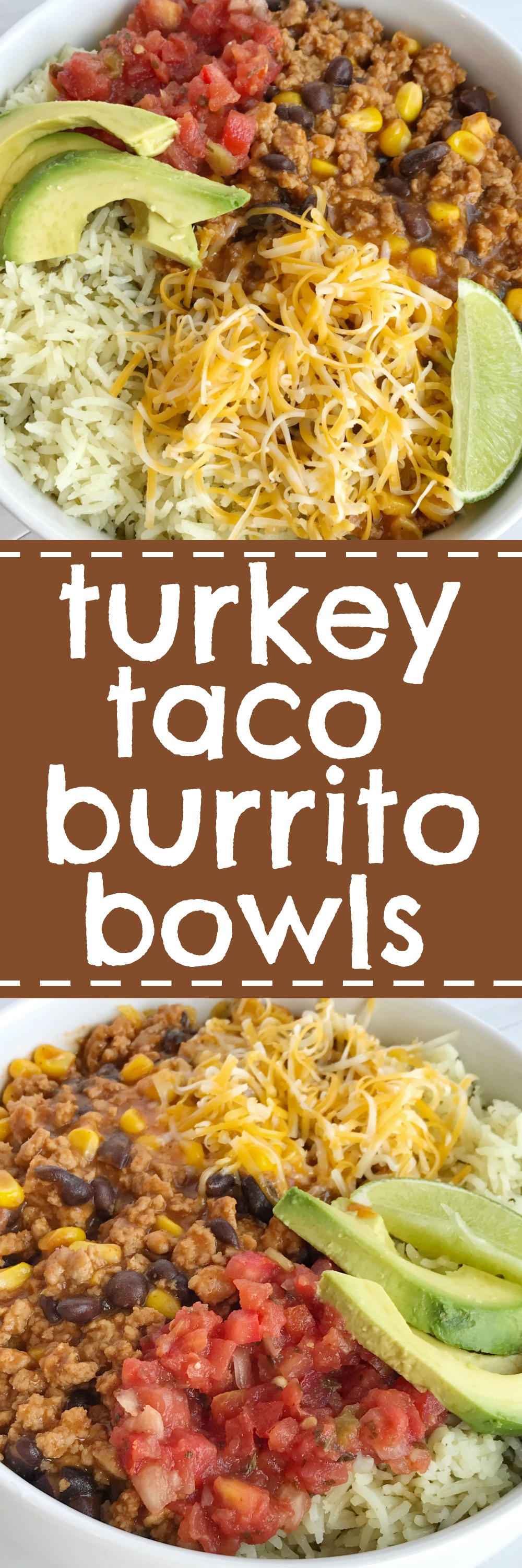 Turkey taco burrito bowls together as family save this recipe for later and pin it to pinterest forumfinder Gallery