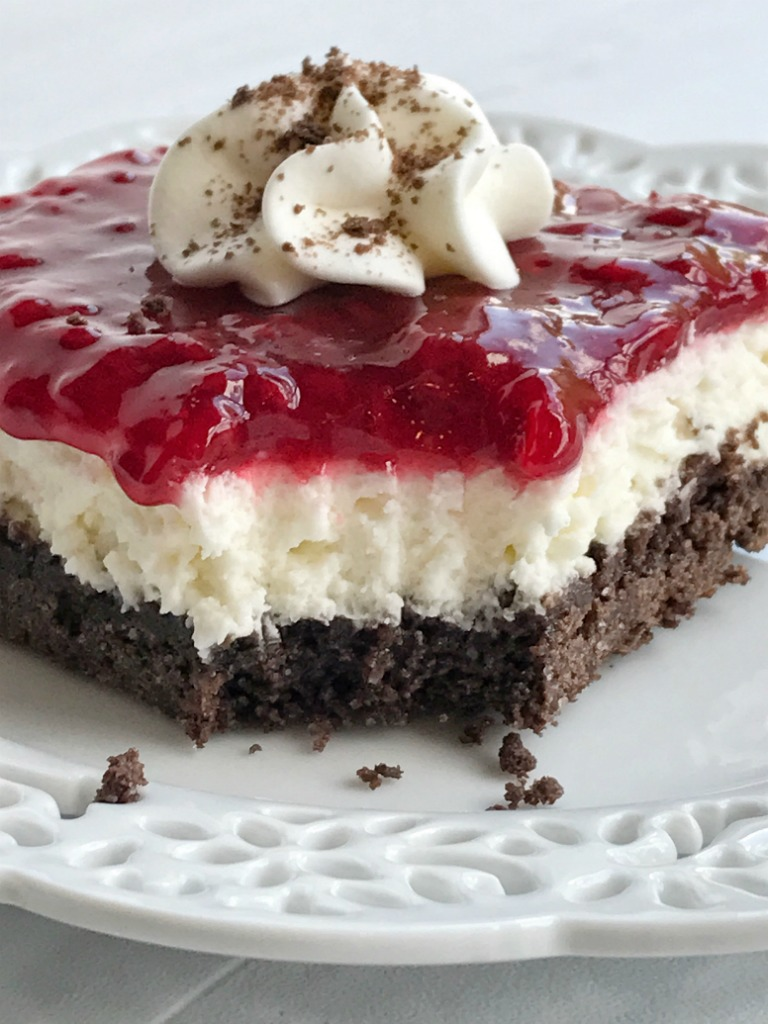 Chocolate Raspberry Cheesecake Delight - Together as Family