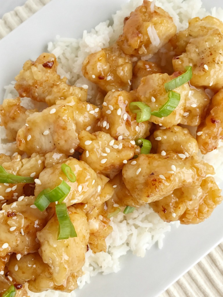 Crispy Asian Honey Chicken - Together as Family