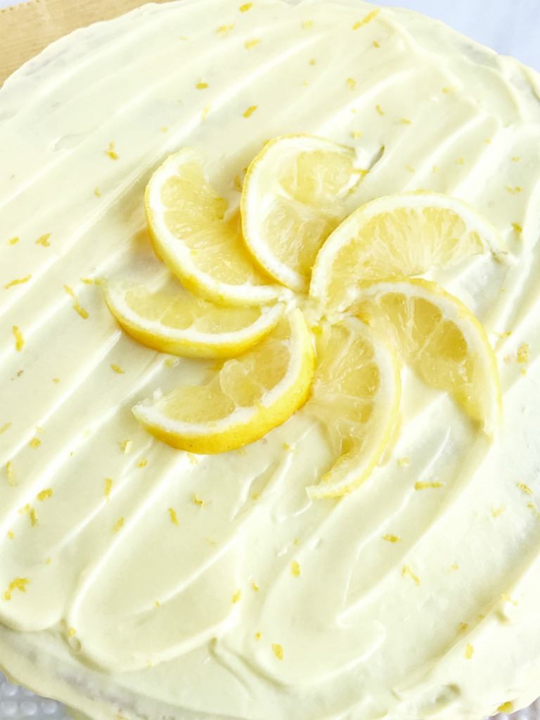 Moist Light Lemon Cake Recipe
