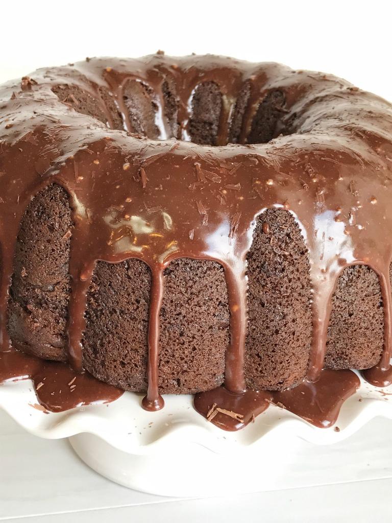 Triple Chocolate Fudge Bundt Cake - Together as Family