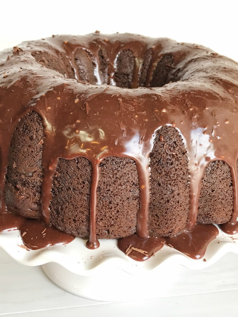 Triple Chocolate Fudge Bundt Cake - Together as Family