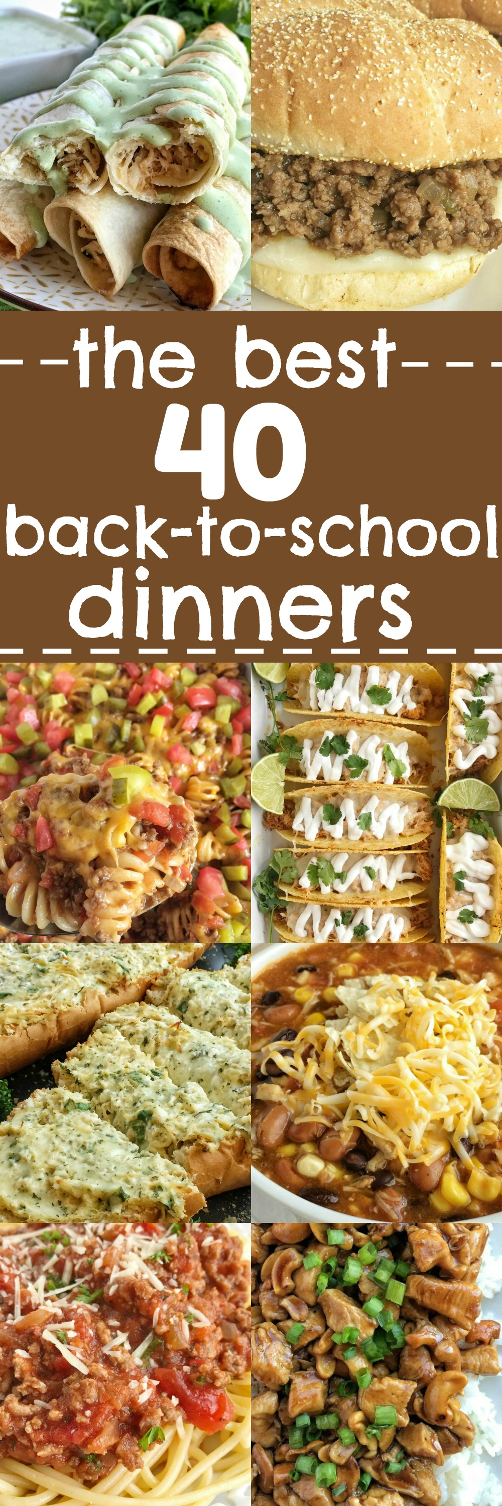Pinterest dinner recipes best christmas eve dinner menu ideas on save this entire collection of back to school easy and best dinner recipes and pin it forumfinder Image collections