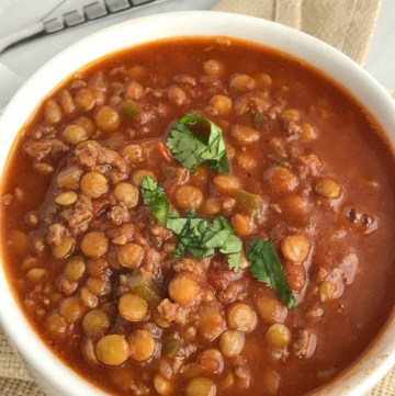 Lentil Chili | Chili | Chili Recipes | Soup | Comfort Food | Soup Recipes | www.togetherasfamily.com #chilirecipes #lentilrecipes #chili #soup #souprecipes