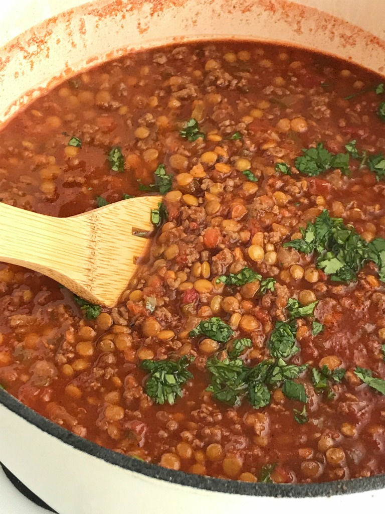 Lentil Chili - Together as Family