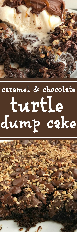 Chocolate Vanilla Dump Cake