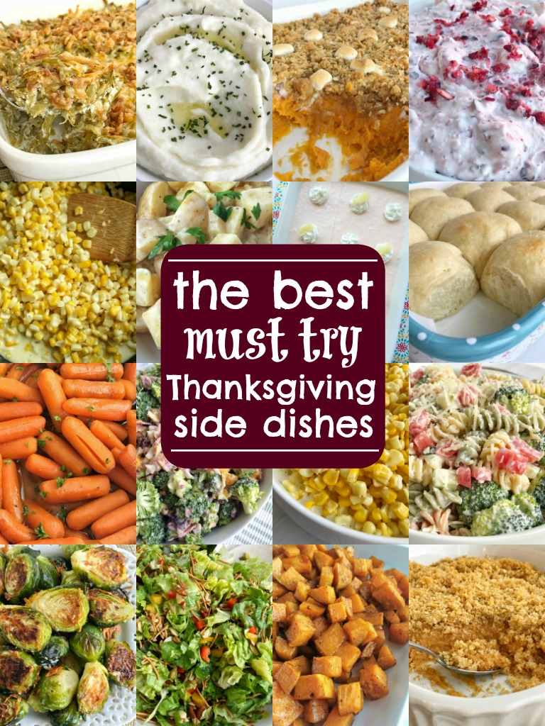 The best thanksgiving side dish recipes together as family for Easy side dishes to make