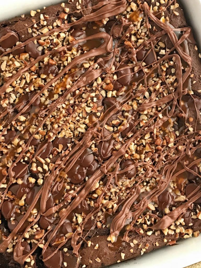 Chocolate Dump Cake Pudding Chocolate Chips
