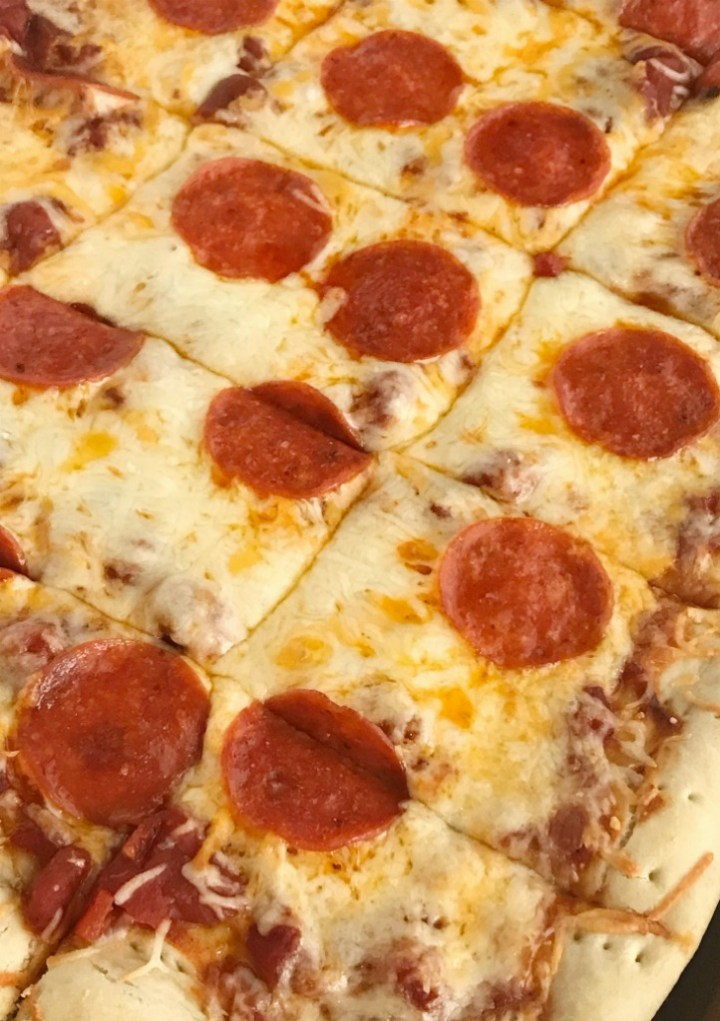Homemade Sheet Pan Pizza Recipe   Pizza   Sheet Pan   Dinner   Together as Family #dinnerrecipes #pepperonipizzarecipe