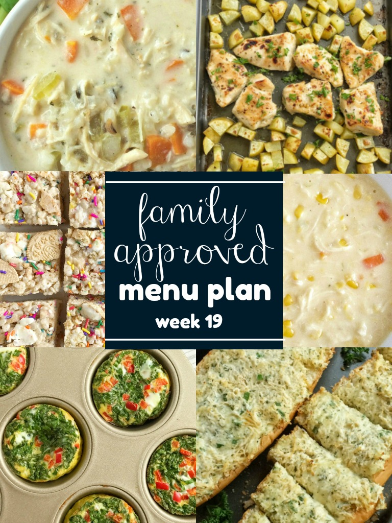 weekly meal plan family menu plan that your entire family will love easy