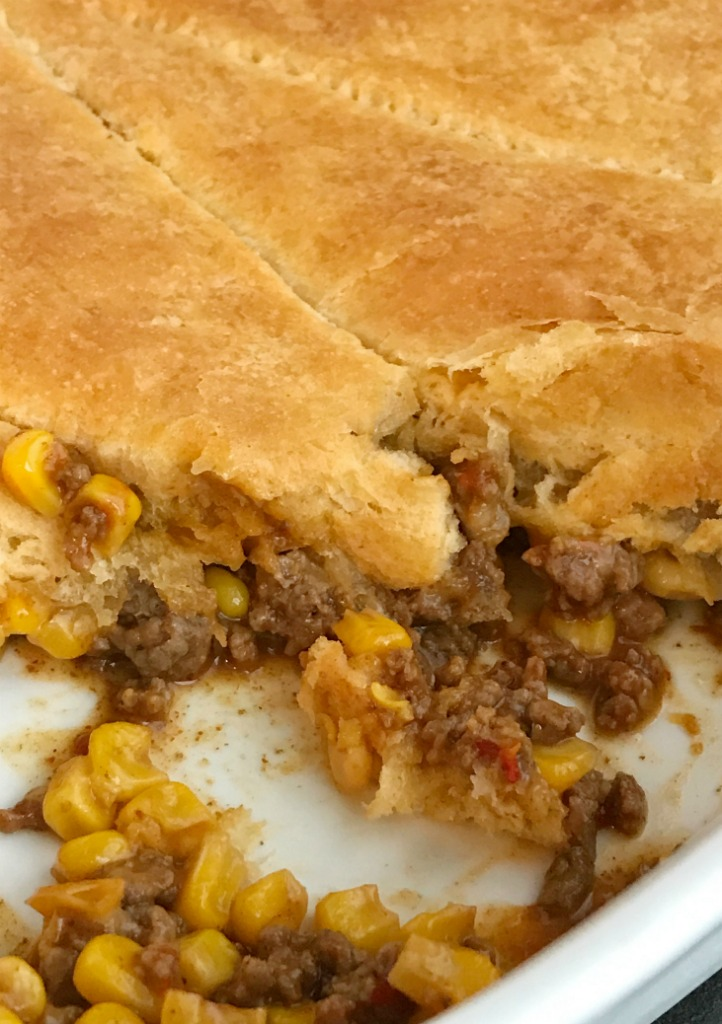 Taco Biscuit Bake Together As Family