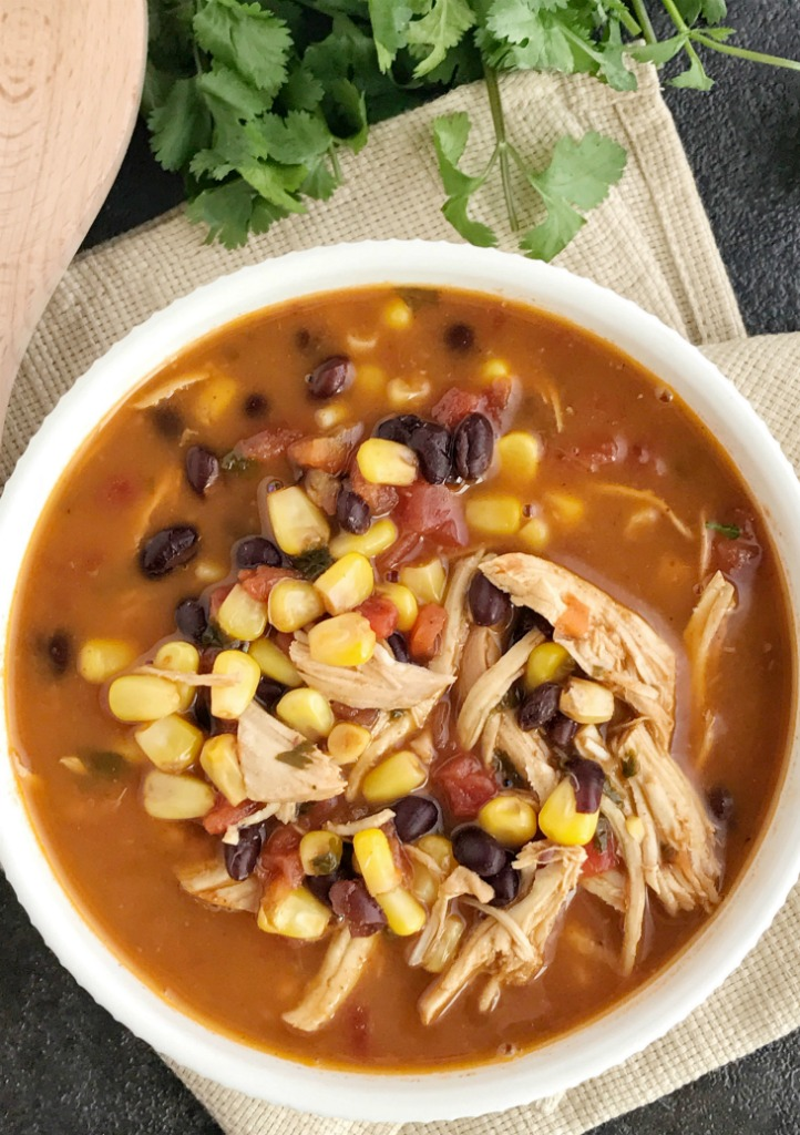 Instant Pot Chicken Tortilla Soup Together As Family