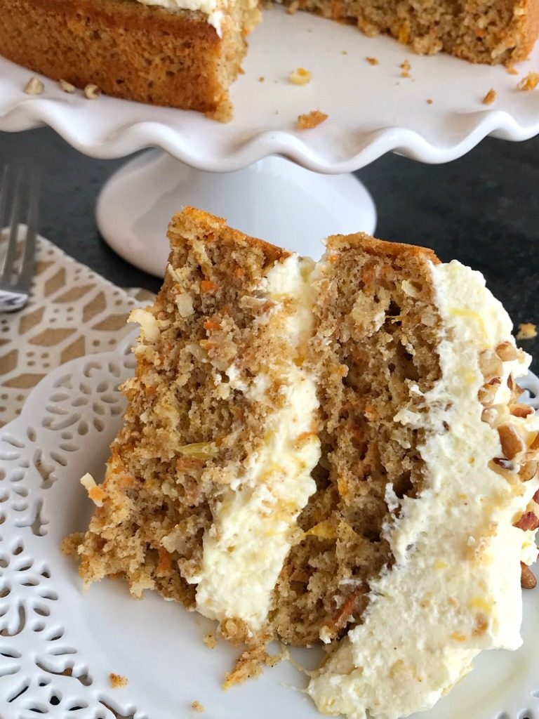 Recipe For Tropical Carrot Cake