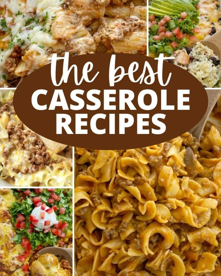 The Best Casserole Recipes with over 20 casserole recipes.