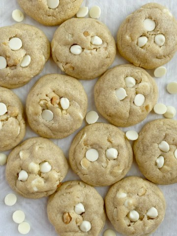 Cookie recipe with white chocolate pudding mix