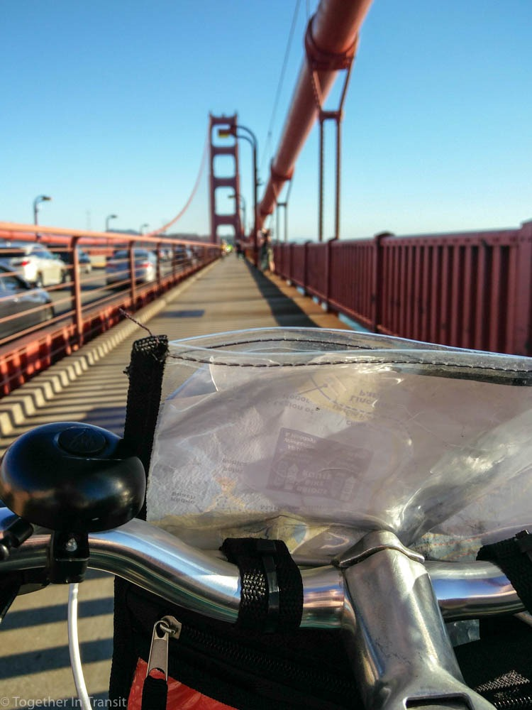 Cycling In San Francisco over the Golden Gate Bridge