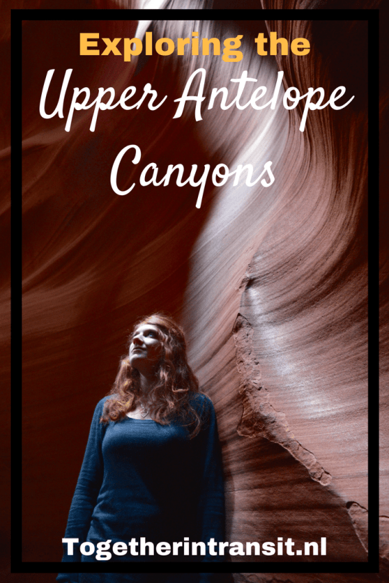 Hiking the Upper Antelope Canyons is a must during our road trip through Arizona!