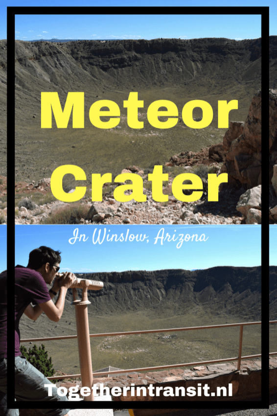 Visiting the Meteor Crater along Route 66, on our 2 week US Road Trip!