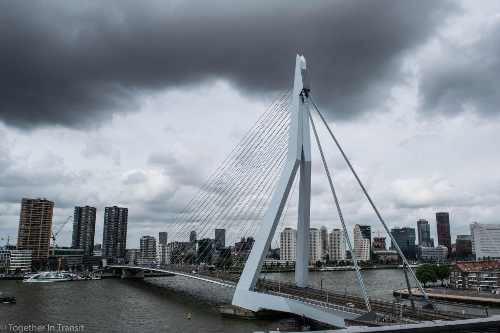 Erasmusbrug on the Dag Van Het Architectuur Rotterdam 2018