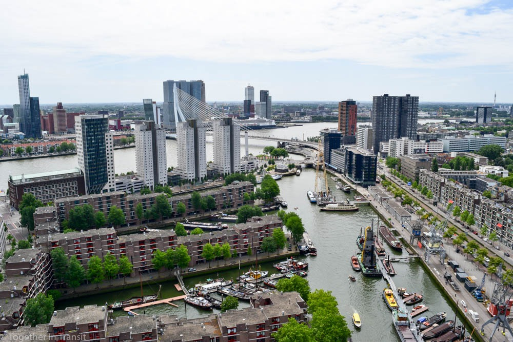 View from Dakendagen event in Rotterdam from 2017