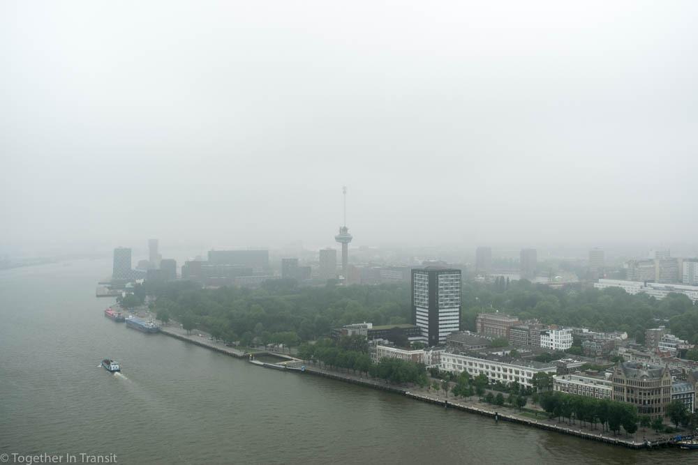 Euromast during Dakendagen 2018 in Rotterdam