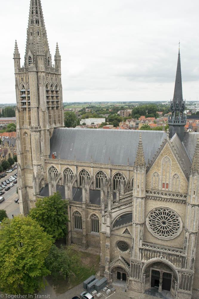 Sint-Maartenskerk in Ypres, Belgium.