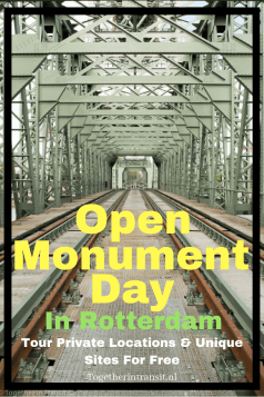 Tour private locations and unique sites for free on Open monumentendag Rotterdam