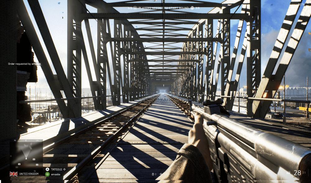 Battlefied V comparison to Rotterdam Hef bridge