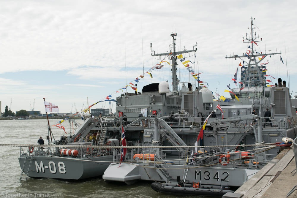 Military boats at the Wereldhavendagen 8th September 2018-352